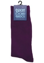 Purple Dress Socks