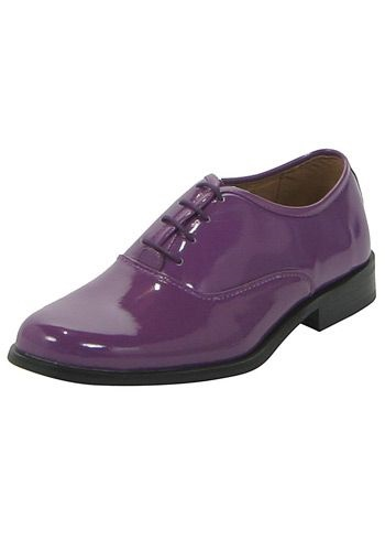 Purple Tuxedo Shoes