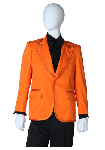 Orange Tuxedo Jacket
