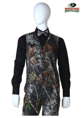 Mossy Oak Tuxedo Vest