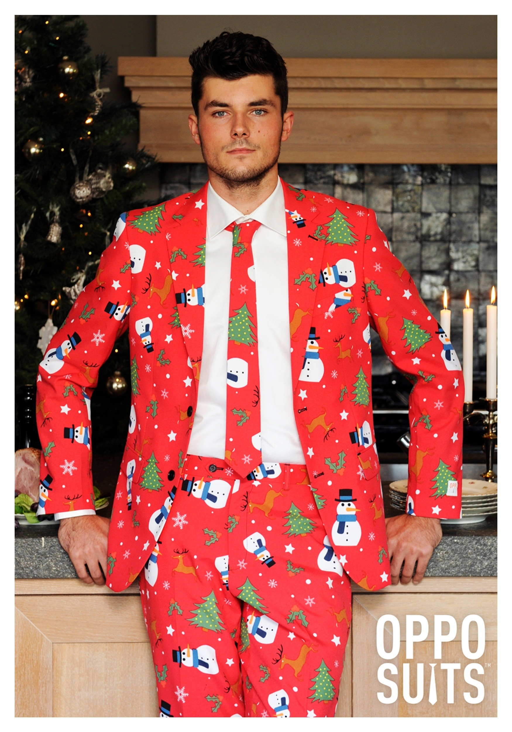 mens red christmas suit - Christmas Suits For Mens
