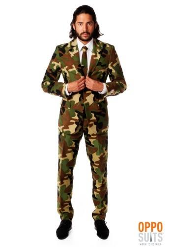 Men's Camouflage Suit