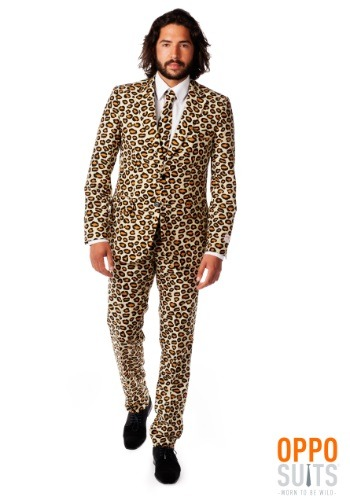 Men's Jaguar Animal Printed Suit