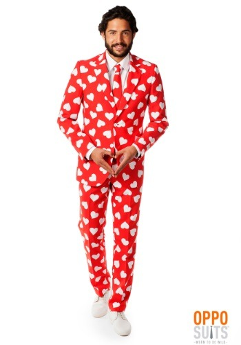 Men's Mr. Lover Heart Suit