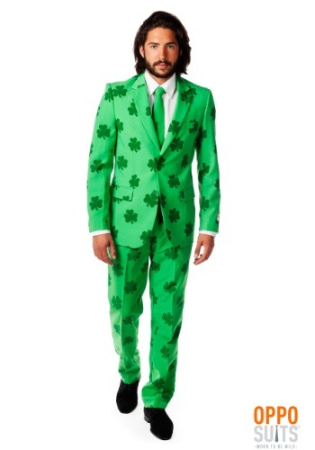 Men's Green St. Patrick's Day Suit