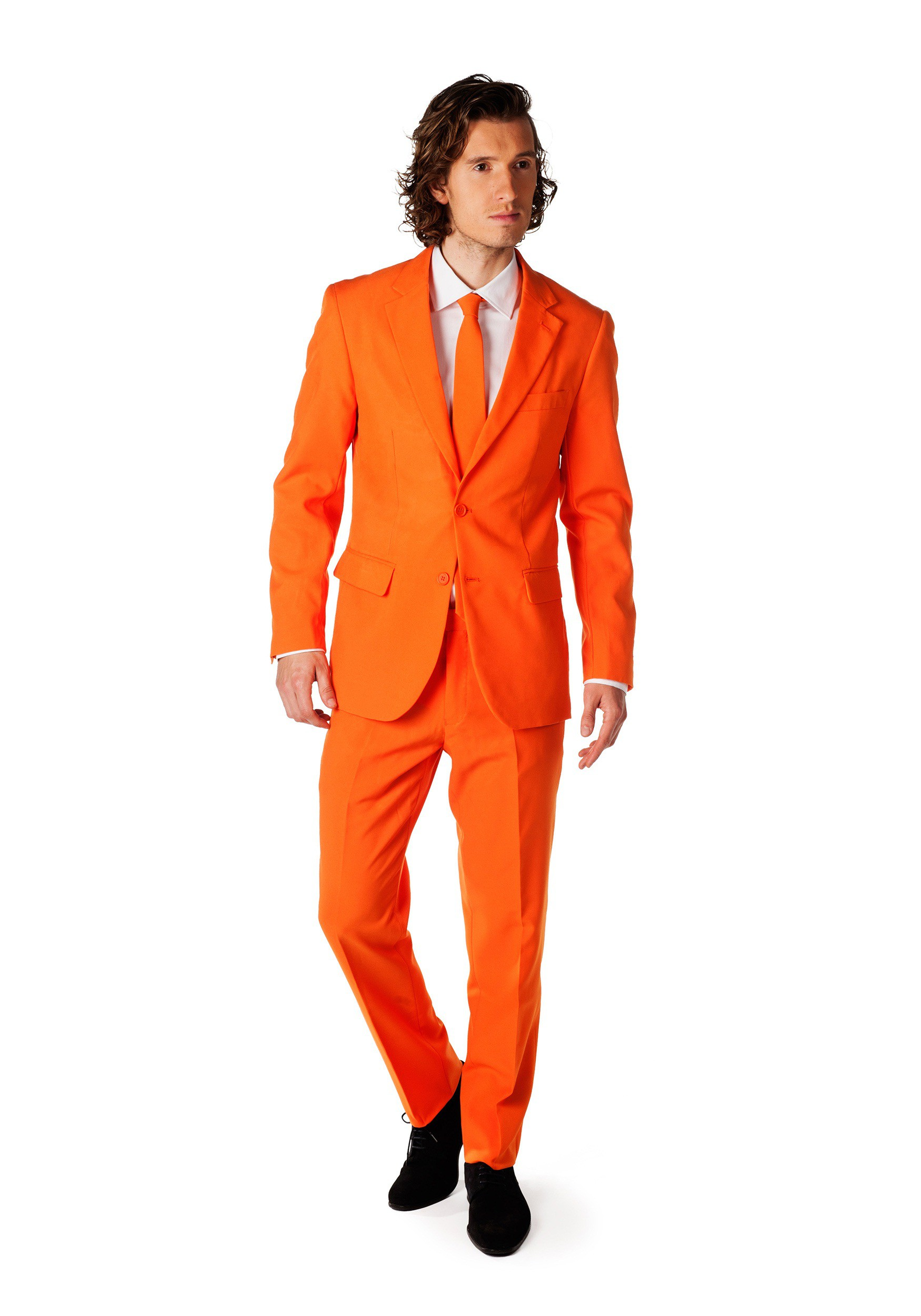mens opposuits orange suit