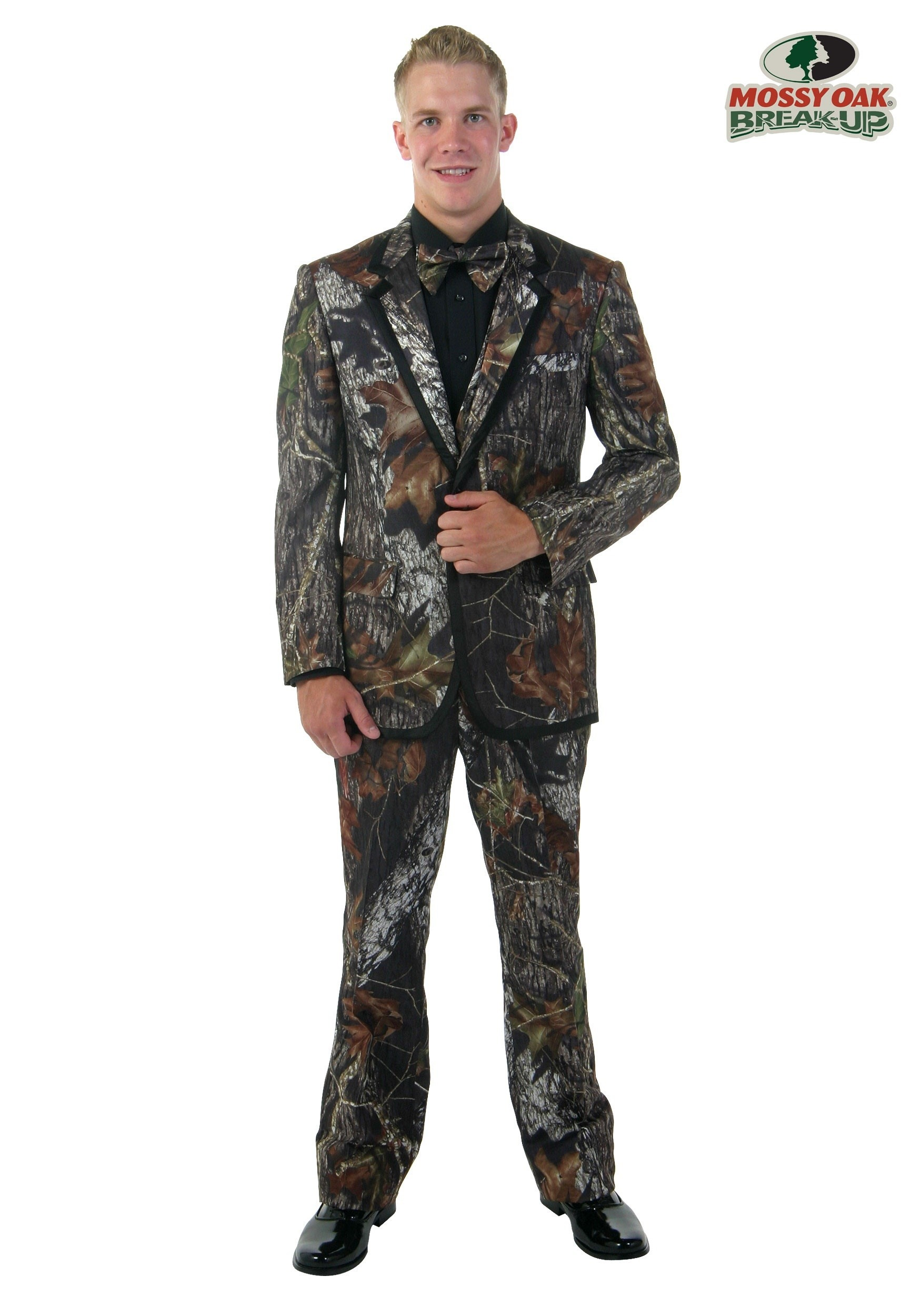 Mossy Oak New Break-Up Alpine Tuxedo - Men\'s Camouflage Tuxedos