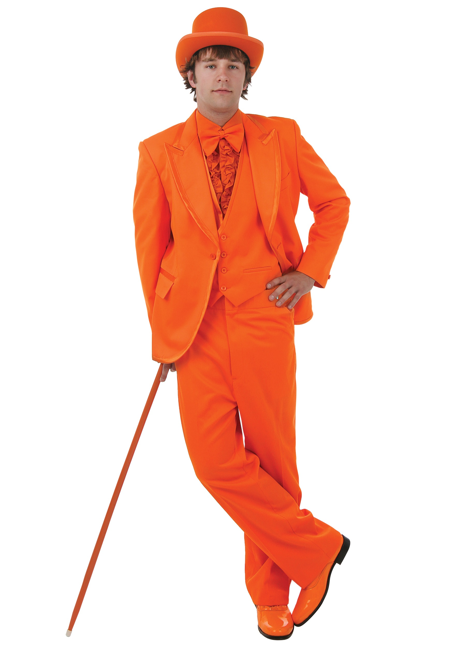 Deluxe Orange Tuxedo - Tux for Prom